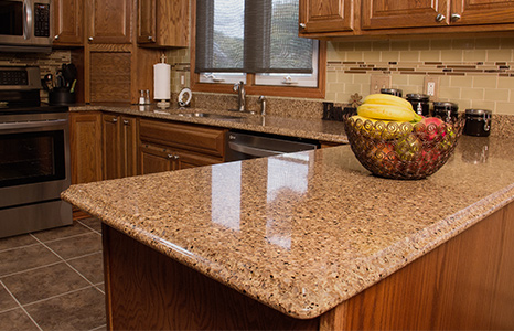 quartz countertop cam