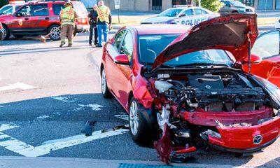 car accident happens